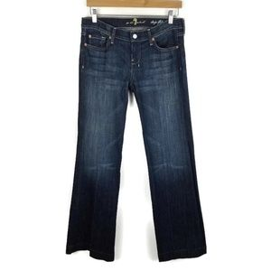7 For All Mankind Dojo Flip Flop Jeans Flare 1383